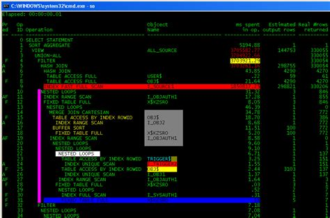 cmd colors sqlplus is my second home part 3 colored selections in