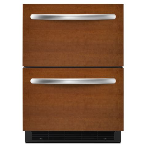 Drawer Fridge by Shop Kitchenaid 23 75 In Built In Drawer