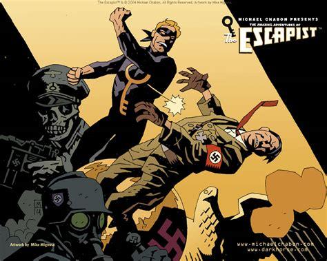 how to wallpaper in the escapist the escapist desktops dark horse comics