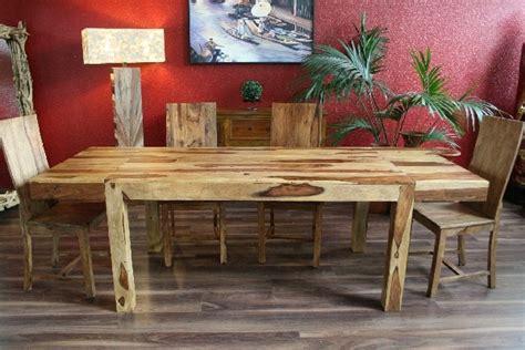 Holztisch Massiv Polieren by Esstisch Erweiterbar Massiv Holz 160x90 240x90 Bali