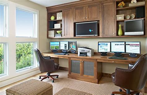 walnut home office furniture tips for creating an efficient home office