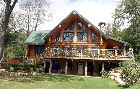 log and stone house plans stevens point log homes factory homes