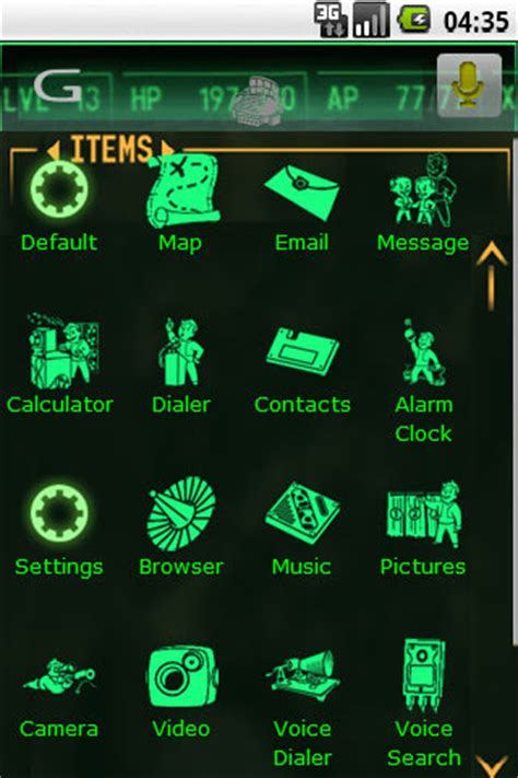 fallout themes for android free fallout pipboy theme apk for android getjar