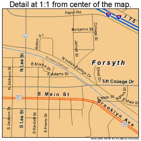 forsyth map forsyth map 1330732