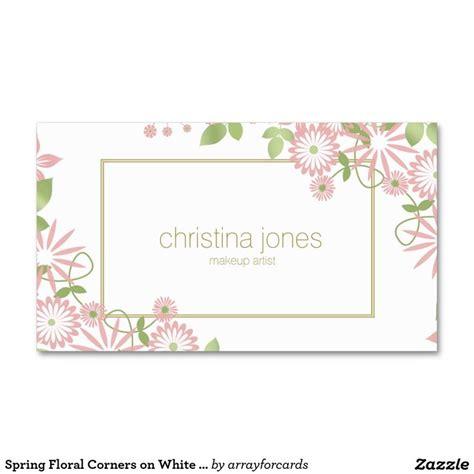 flower design name card 566 best girly business cards images on pinterest