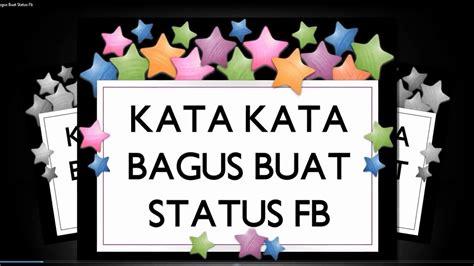 kata status fb terbaik cinta