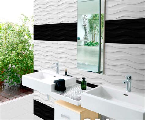 """12"""" x 24"""" and 12"""" x 36"""" white wavy tiles   DT Flooring"""