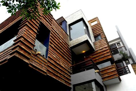 Split Level House Gurgaon House Indian Residence Home India E Architect