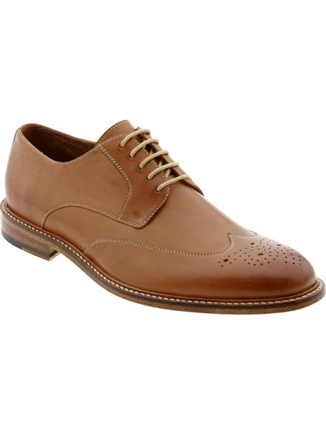 On Our Radar Banana Republic Supports The Earth by Banana Republic Digby Brogue In Brown Lyst