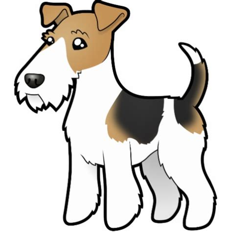 Home Front View Design Ideas cartoon wire fox terrier cut outs zazzle