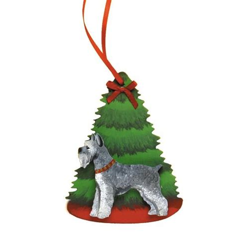 holiday pine tree dog breed ornament holiday scenes