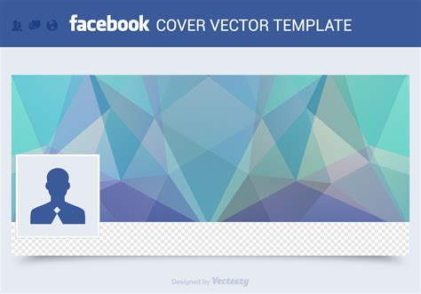 free facebook cover vector template download free vector
