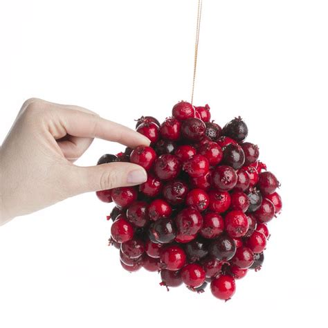 burgundy ornaments burgundy artificial berry ornament on sale