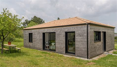Ordinaire Construire 2 Maisons Sur Un Terrain #2: Maison-bois-economique-macoretz.jpg