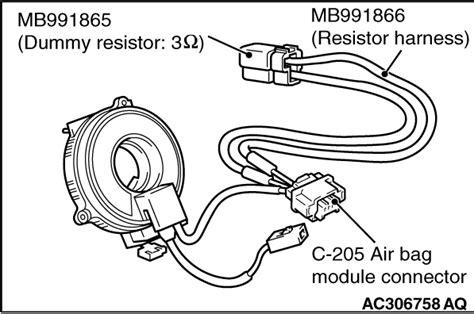 Code No B1b00 Driver S Air Bag Module 1st Squib System