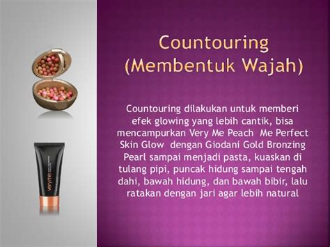 Pasta Untuk Foundain step by step make up with oriflame