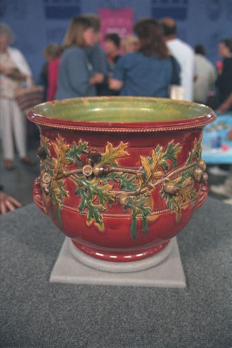 New Orleans Art Pottery Jardinière   Antiques Roadshow   PBS