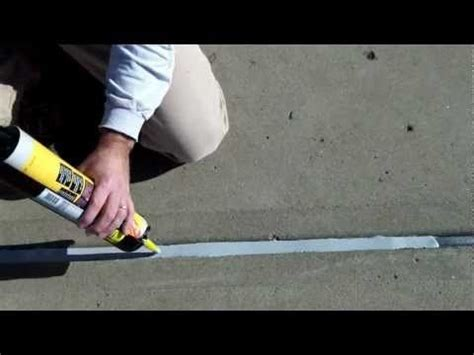 apply  leveling concrete joint sealant  expansion
