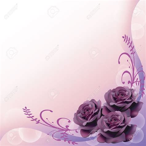 Lavender Wedding Background by Lavender Background Wedding Wedding Invitation Border