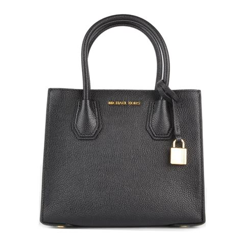 michael michael kors mercer black medium messenger bag