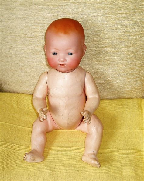 bisque doll composition antique armand marseille baby bisque doll with