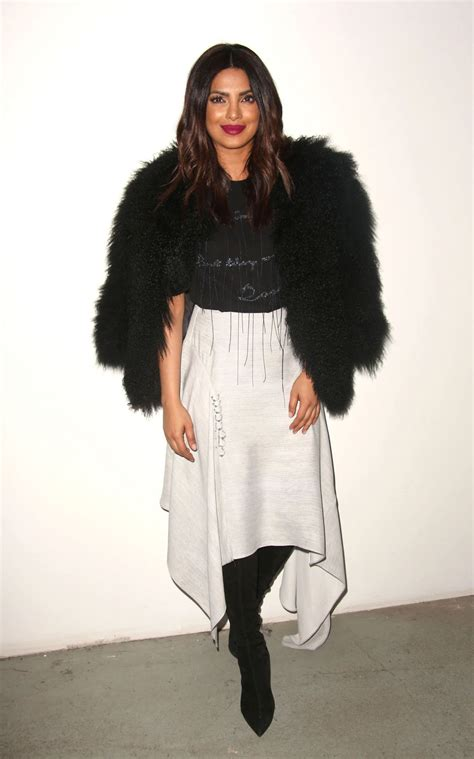 priyanka chopra in fashion priyanka chopra prabal gurung fashion show in new york 2