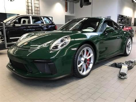 racing green racing green 2018 porsche 911 gt3 is a manual