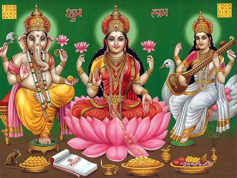 god laxmi themes download ganesh laxmi saraswati hindu god wallpapers free download