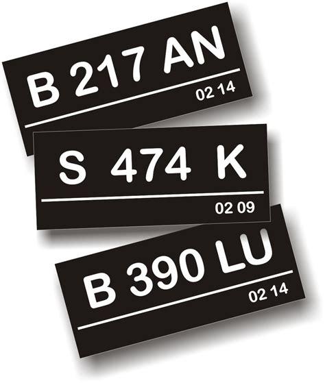 Plat Nomor Acrylic Untuk Motor arti kombinasi huruf dan angka pada plat nomor kendaraan