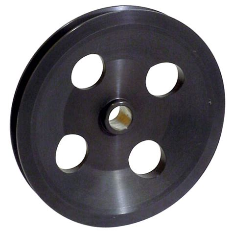 afco 37384 power steering replacement 6 inch v pulley