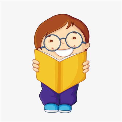 libro las gafas de la ni 241 o leyendo libro los ni 241 os con gafas lectura png image para descarga gratuita