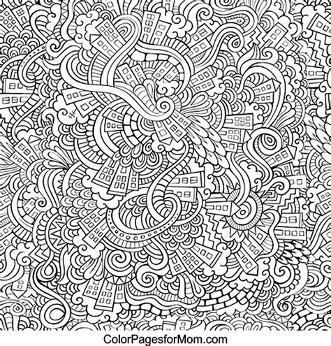 cool advanced coloring pages doodles 30 advanced coloring page