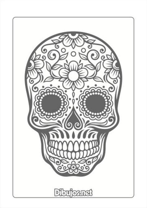 imagenes de calaveras para dia de muertos 8 dibujos del d 237 a de los muertos para imprimir y colorear