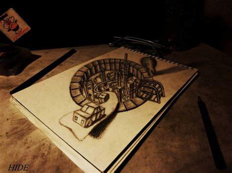imagenes en 3d para dibujar a lapiz dibujos en 3d a lapiz tonterias com