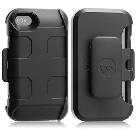 mophie rugged mophie iphone 4 4s juice pack pro rugged battery holster black refurbished a4c