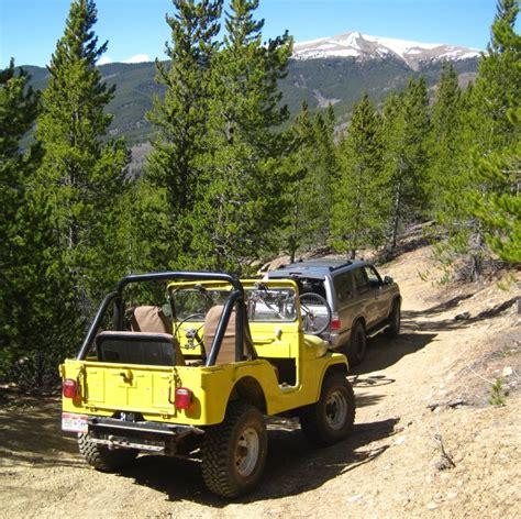 Jeep Trails Colorado Colorado Jeep Trail 1961 Cj5 Jeep On A Colorado Jeep Road