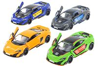 Kinsmart Mclaren P1 Diecast Grey 1 32 Mbk 286 Silver scale 128 to 138 diecast collectible model cars from wonders inc