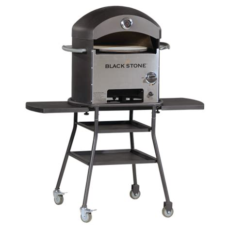 blackstone black patio pizza oven brand new ebay