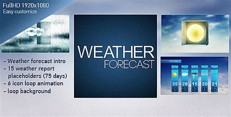 Blank Weather Forecast Template 187 Aihouqi Com Weather Graphics Template