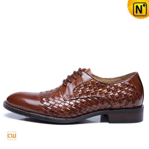 mens lace up business dress shoes brown cw761325