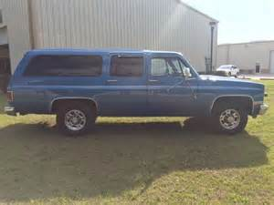 1988 chevrolet suburban 454 c20 like new for sale photos