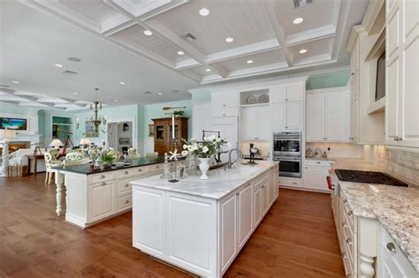 florida kitchen designs double island kitchen tropical kitchen miami by