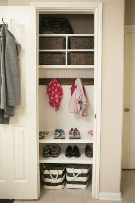 Entryway Coat Storage Ideas Best 25 Coat Closet Organization Ideas On