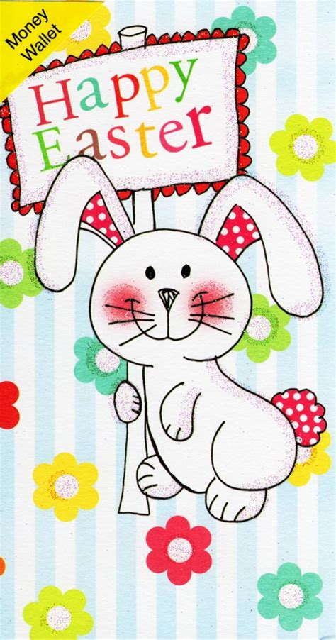 Easter Wallet by Happy Easter Money Wallet Bunny Gift Card Cards