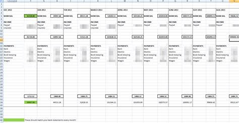 Infinite Banking Spreadsheet by Limited Company Accounting Vat Registration And