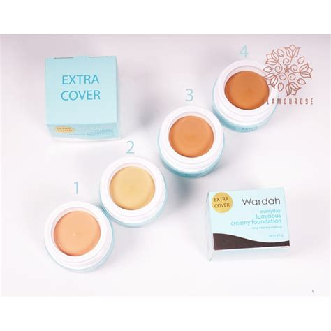 Harga Wardah Luminous Foundation Cover wardah everyday luminous foundation cover 8 5