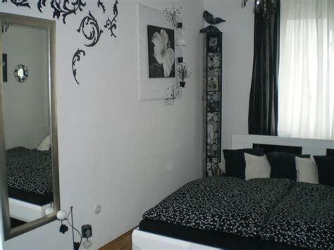 schwarz weiß schlafzimmer wohnzimmer und esszimmer