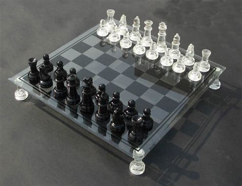 glass chess boards glass chess glass chess set