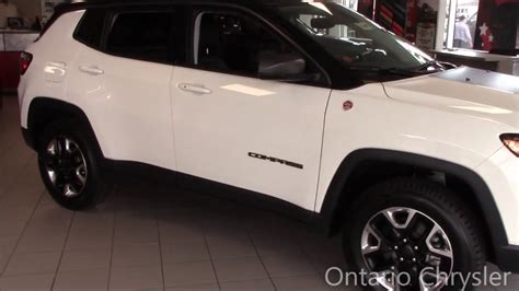 The All New 2017 Jeep Compass Trailhawk Ontario Chrysler