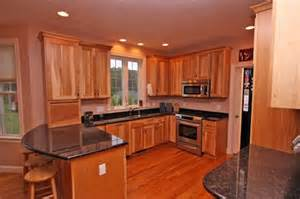 Hickory Wood Kitchen Cabinets by Hickory Wood Kitchen Cabinets Homesweethome Pinterest